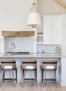 mixed metals used in kitchen